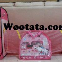Tenda Terowongan Anak Hello Kitty Terbaru