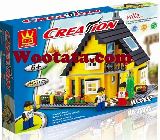 jual mainan block creation villa 32052 murah