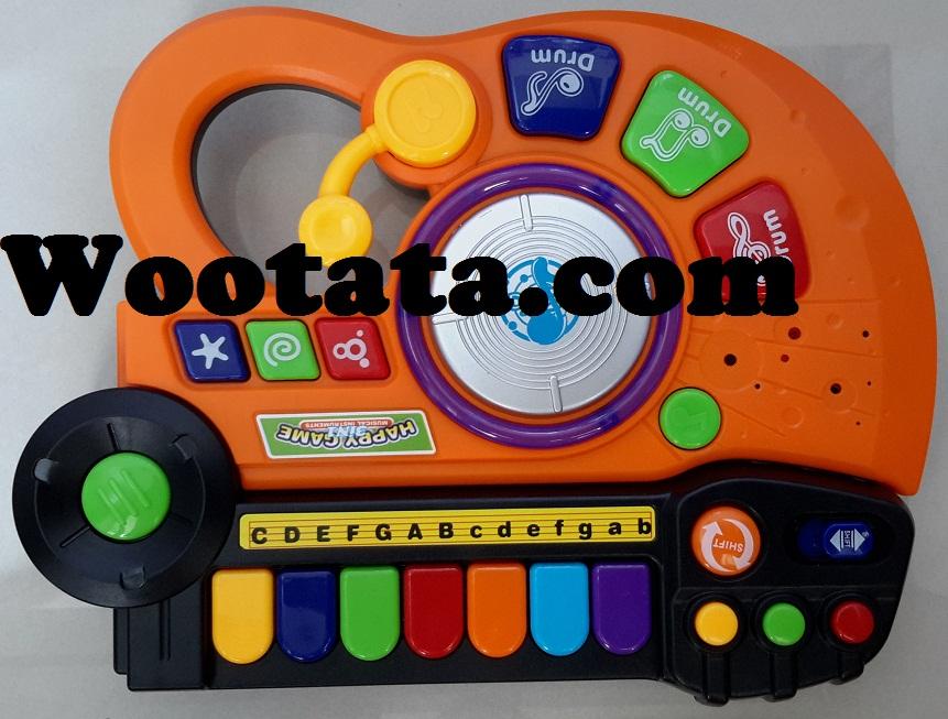 mainan alat musik dj anak terbaru happy game 3 in 1