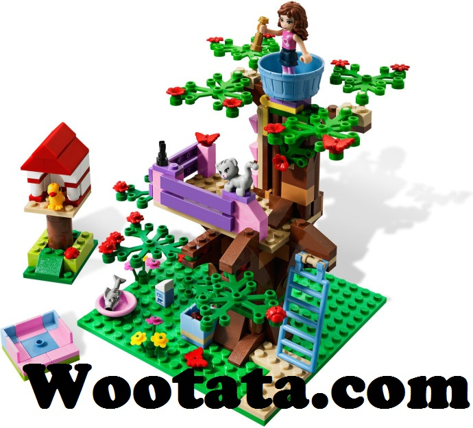 mainan anak lego block friends 10158 olivia tree house