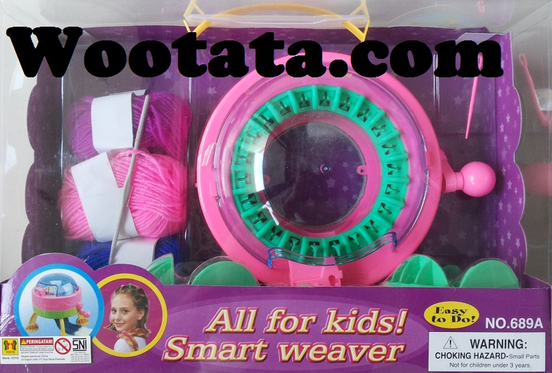 mainan rajut anak terbaik smart weaver