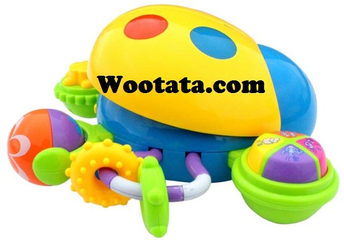 mainan terbaik untuk anak 1 tahun multifunction puzzle ladybug