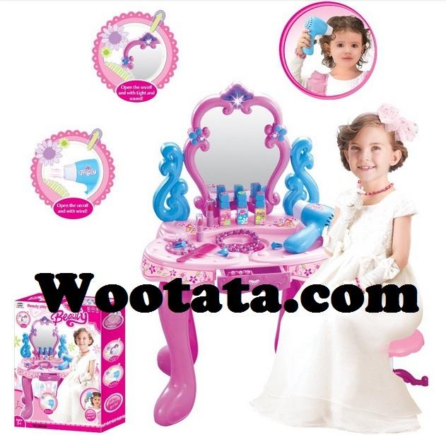 permainan dandan anak perempuan beauty play set