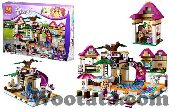 mainan kreatif untuk anak 6 tahun block lego friends 10160