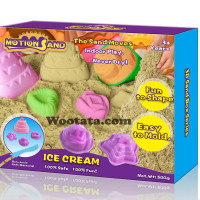 Mainan Pasir Kinetik Motion Sand Box Ice Cream