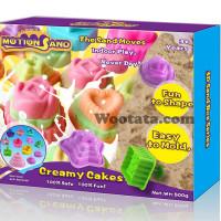 Mainan Pasir Pasiran Anak Motion Sand Box Creamy Cakes