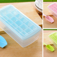 Cetakan Es Batu Dengan Tutup Ice Box 3 in 1