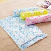 Hand Roll Vacuum Bag Travel Murah