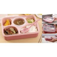 Bento Lunch Box BPA Free Yooyee 5 Sekat