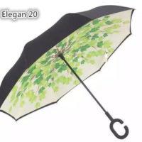 Payung Terbalik Gagang C Motif Keren Elegan20