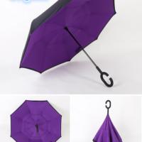 Payung Terbalik Gagang C Warna Ungu
